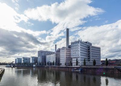 Architekturfotografie im Frankfurter Westhafen